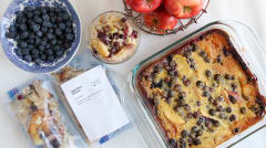 Apple Berry Clafoutis