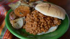 Instant Pot Pumpkin Sloppy Joes - Lunch