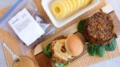 Aloha Burgers - Dump and Go Dinner