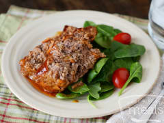 Instant Pot BBQ Meatloaf - Traditional - Ready to Eat Dinner