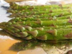 Baked Asparagus - Dump and Go