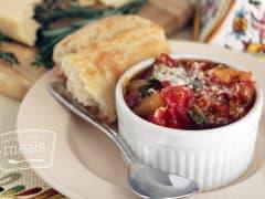 Tuscan Chicken Stew - Lunch Version