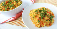 Low FODMAP Slow Cooker Paella - Ready to Eat Dinner