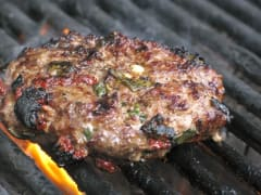 Tomato Basil Hamburgers - Dump and Go Dinner