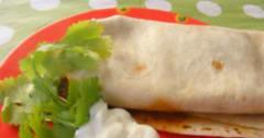 Chicken Burritos - Lunch Version