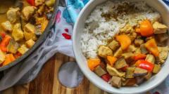 Green Thai Curry - Lunch