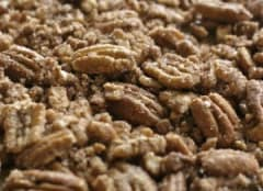 Candied Pecans with a Kick