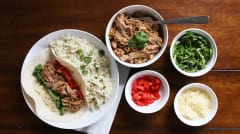 Slow Cooker Carnitas - Lunch Version