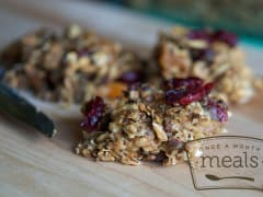Nutrient Packed Breakfast Bars