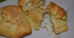 Creamy Chicken Pockets - Diet Version