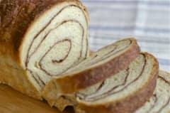 Custard Cinnamon Swirl Bread