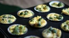 Paleo Beef Sausage and Broccoli Egg Muffins