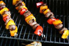 Summer Steak Kebabs - Dump and Go Dinner