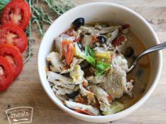 One Pot Italian Chicken - Dump and Go Dinner