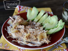 Paleo Pulled Pork - Ready to Eat Dinner