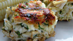 Pure and Simple Crab Cakes - Paleo Lunch Version