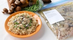 Gluten Free Dairy Free Chicken a la King - Ready to Eat Dinner