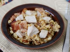 AIP Paleo Chicken and Bacon Fried Rice