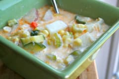 Summer Vegetable Chowder - Gluten Free Dairy Free Lunch Version