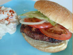 Smoky Monterey Jack Burgers - Dump and Go Dinner