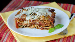 Instant Pot Meaty Mediterranean Lasagna - Lunch