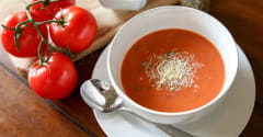 Slow Cooker Tomato Soup - Ready to Eat Dinner