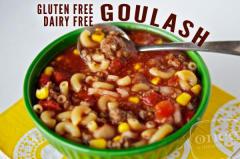 Gluten Free Dairy Free Goulash - Dump and Go Dinner