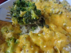 """Real"" Chicken Broccoli Rice Casserole - Dump and Go Dinner"