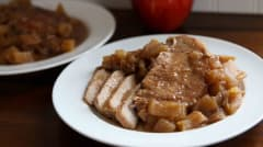Apple Pie Pork Chops - Dump and Go Dinner