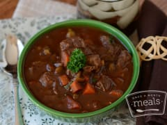 Paleo Beef Stew - Lunch Version