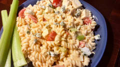 Buffalo Pasta Salad - Lunch Version