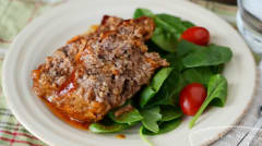 Instant Pot BBQ Meatloaf - Gluten Free Dairy Free - Ready to Eat Dinner