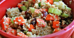 Cranberry Couscous Salad - Lunch Version