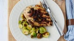 Instant Pot Bruschetta Chicken - Lunch