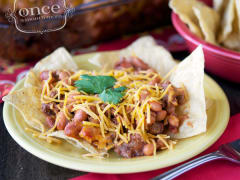 Gluten Free Dairy Free Mexican Beef and Beans Casserole - Dump and Go Dinner