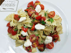 Caprese Pasta Salad - Lunch Version