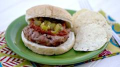 Southwest Chicken Burgers - Lunch Version