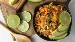 Mexican Chicken Chorizo Skillet