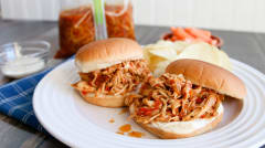 Buffalo Chicken Sandwiches - Gluten Free Dairy Free - Lunch