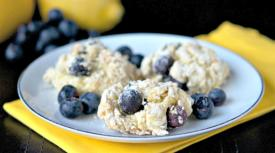Gluten Free Dairy Free Lemon Blueberry Scones