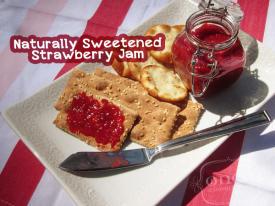 Naturally Sweetened Strawberry Jam