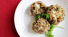 Instant Pot Low Histamine Cheese-Filled Meatballs