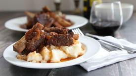 Instant Pot Tender Braised Short Ribs