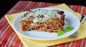 Meaty Mediterranean Lasagna