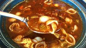 Mom's Pasta E Fagioli Soup