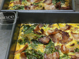 Bacon and Kale Paleo Breakfast Casserole