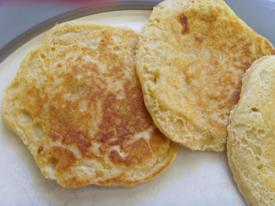 Apple & Banana Pancakes (Adult Friendly Too)