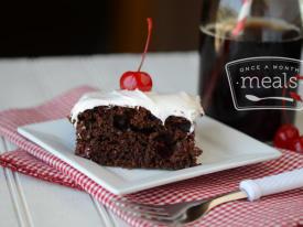 Cherry Coke Chocolate Cake: Saving Second Base