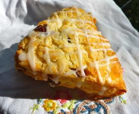 Gluten Free Dairy Free Cranberry Orange Scones