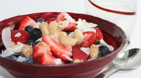 Berries, Nuts, and Coconut Shreds
